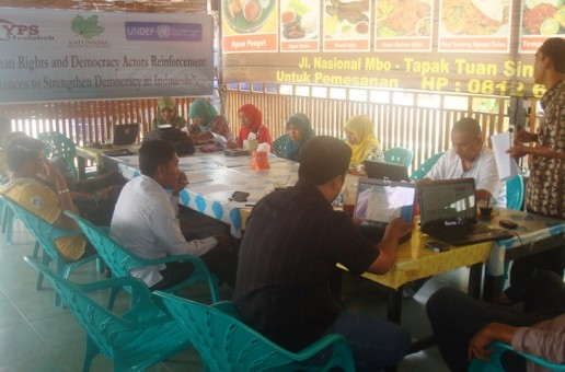 Strengthening Alternative Democratic Groups in Nagan Raya