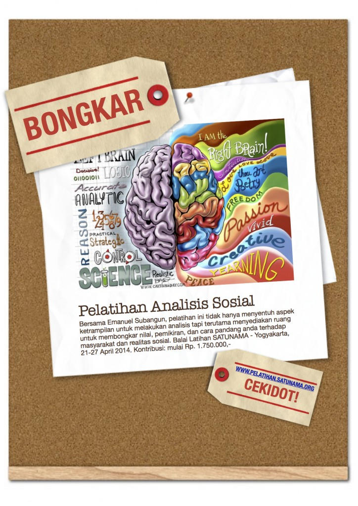 Pelatihan Analisis Sosial (April)