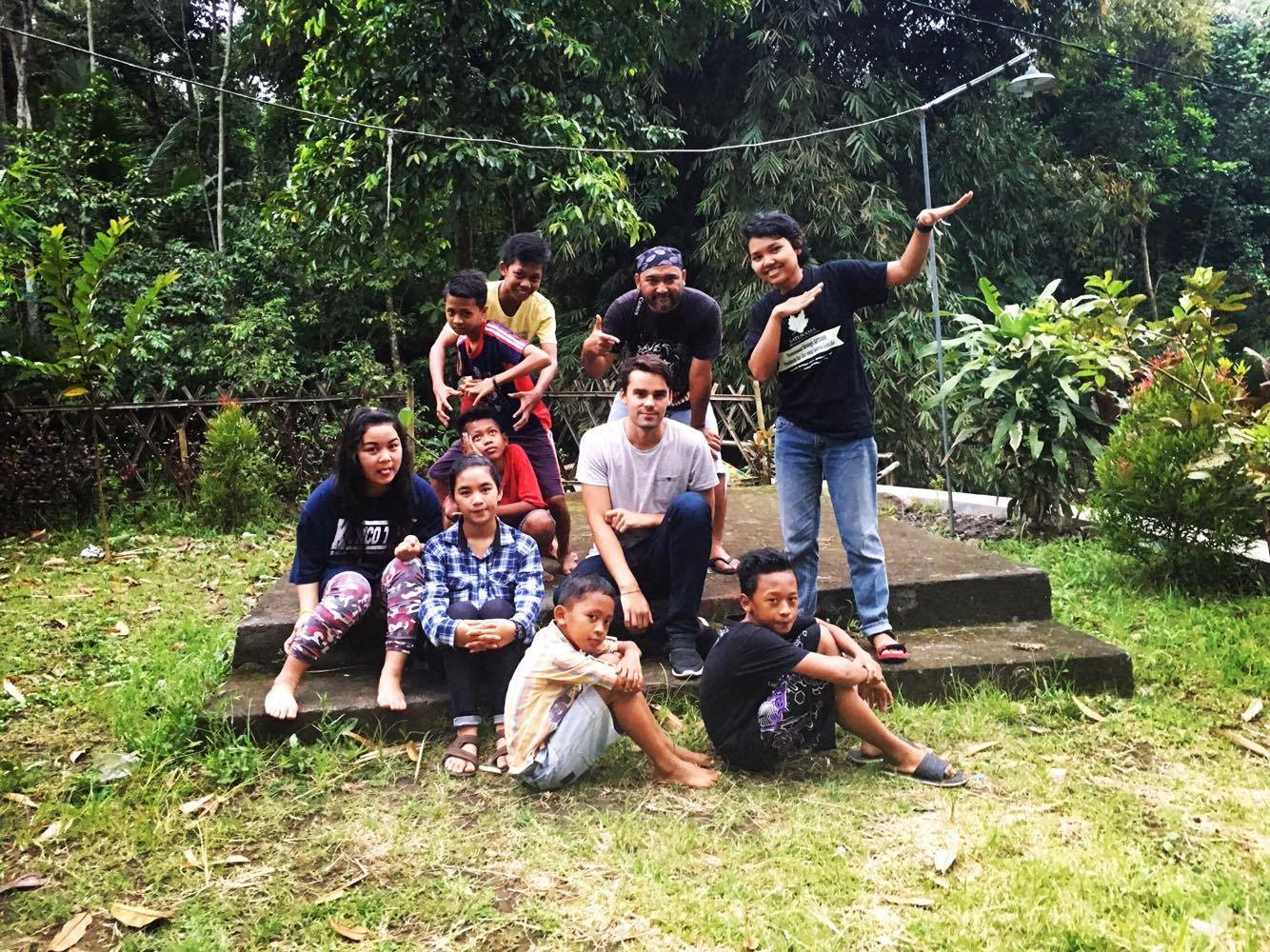 Australian Student in Central Java and Yogyakarta Villages (Part I)
