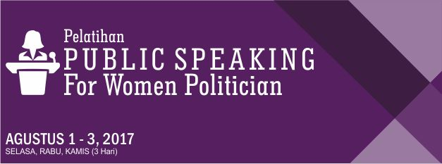 Training Public Speaking for Women Politician