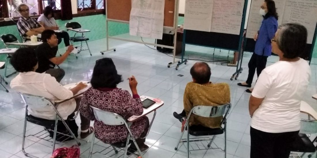 Matangkan Program Kesehatan Jiwa, SATUNAMA Gelar Workshop Internal