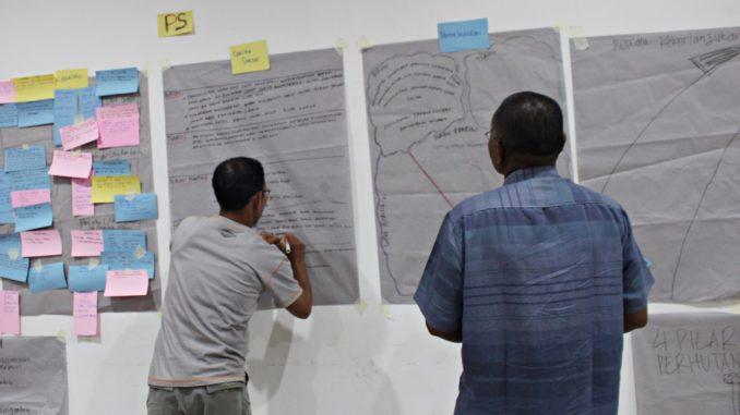 Lembaga Pengelola Hutan Desa menyusun Rencana Keberlanjutan