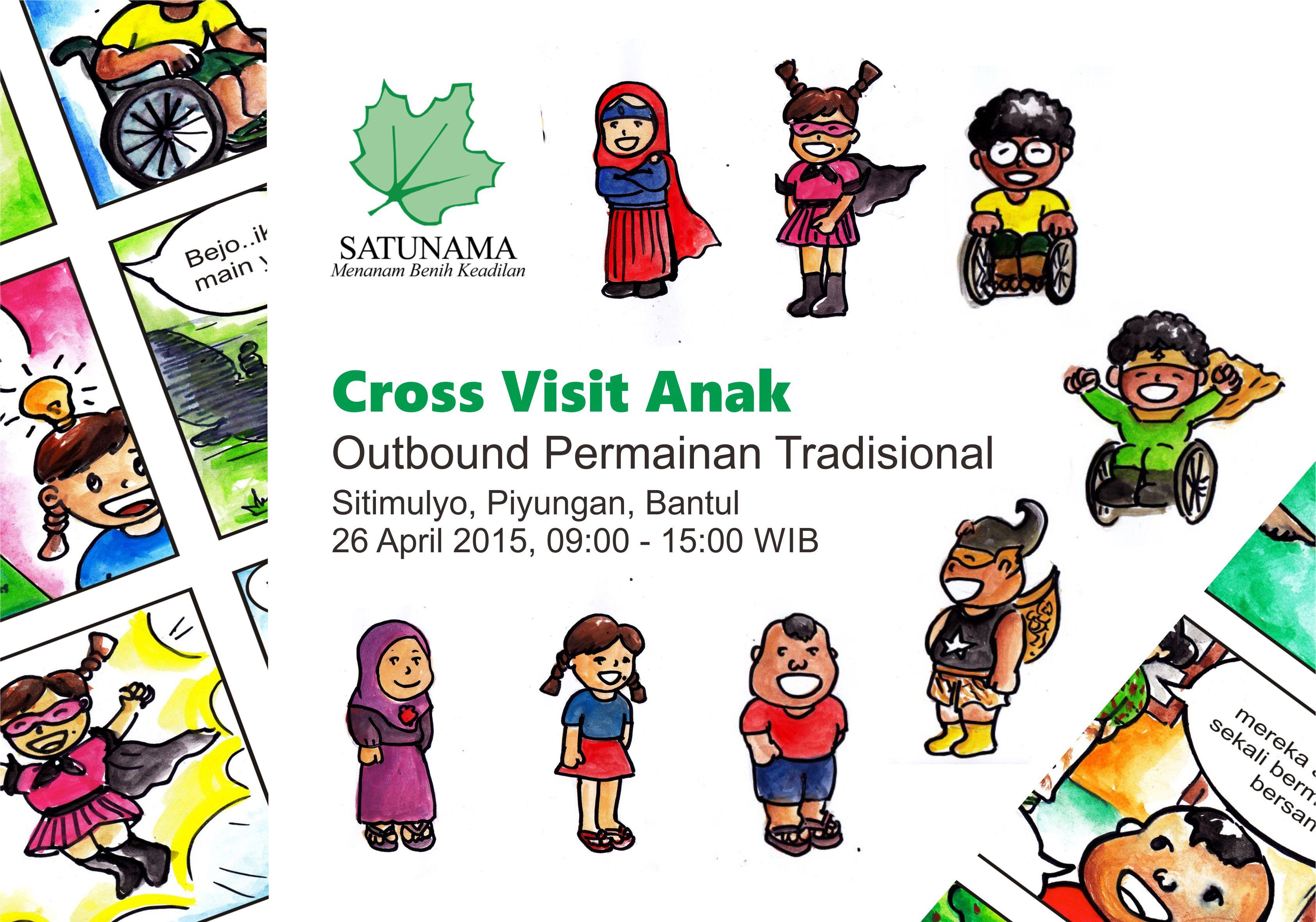 Cross Visit & Permainan Tradisional Anak Siap Dihelat