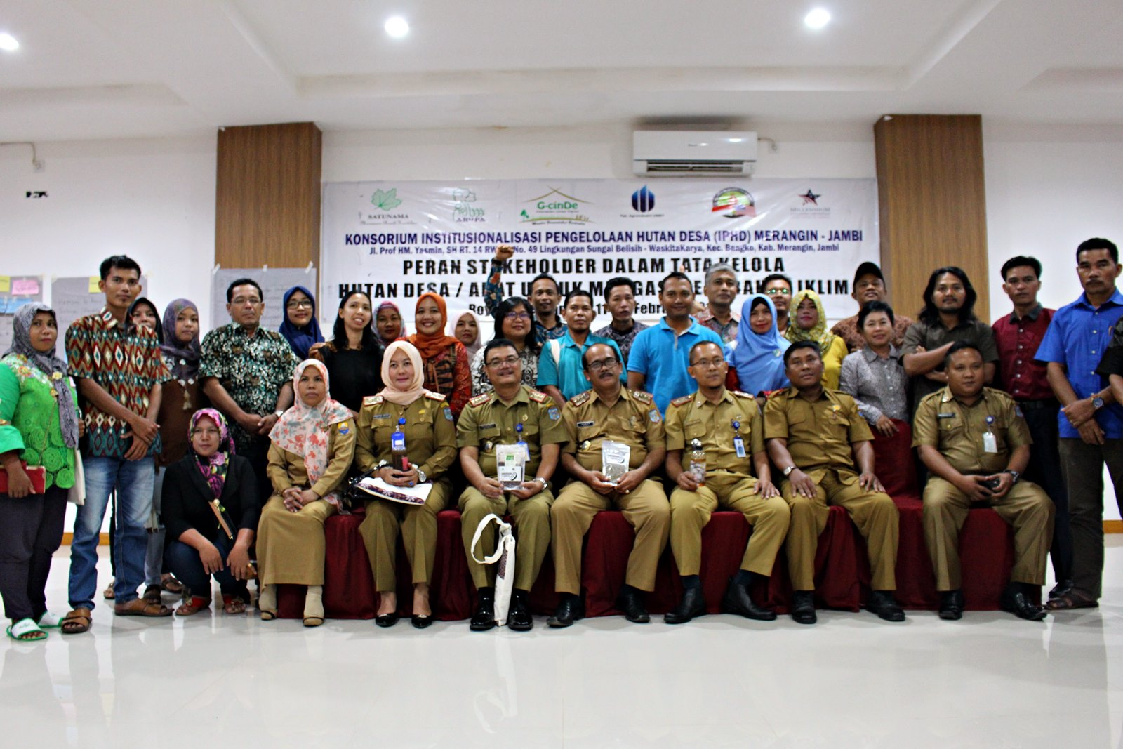 Workshop Closing Project di Merangin